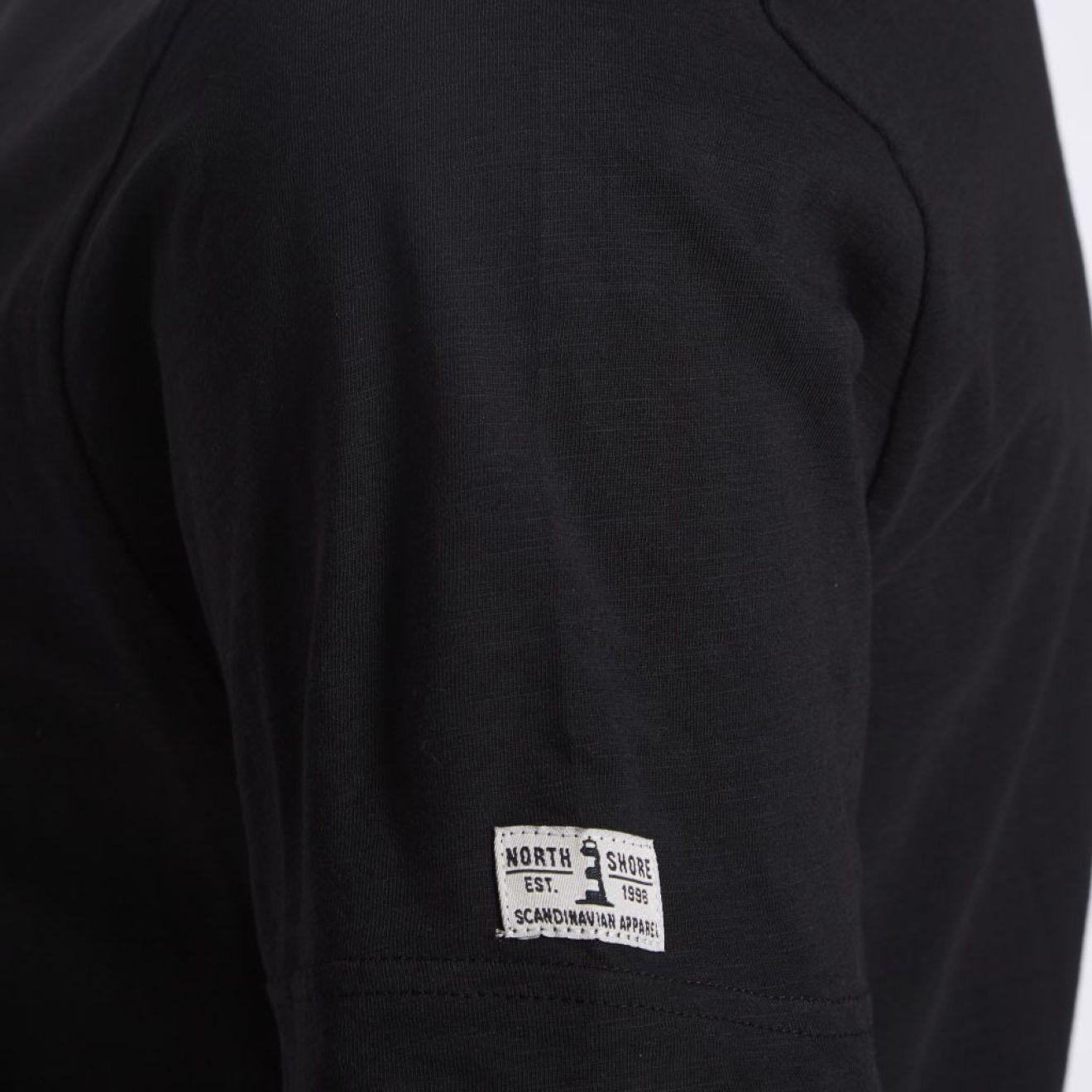 71375e5d6c87 ALLSIZE NORTH 56° T-Shirt mit V-Auschnitt in Überlänge, TALL Größe