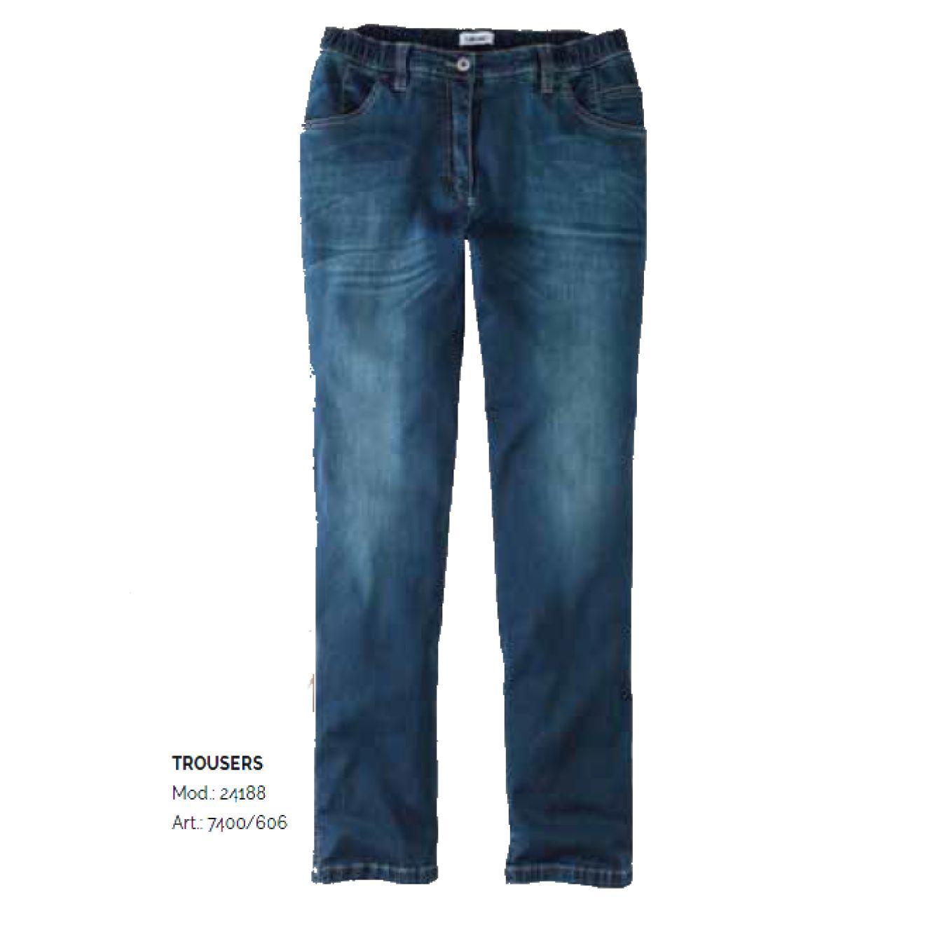 KjBRAND Quer Stretch (used wash) Damenjeans BETTY CS RÖHRE, SLIM LEG (schlanke Oberschenkel & Beine) XXL Größe 38 58, 38K 58K (7400 24188)