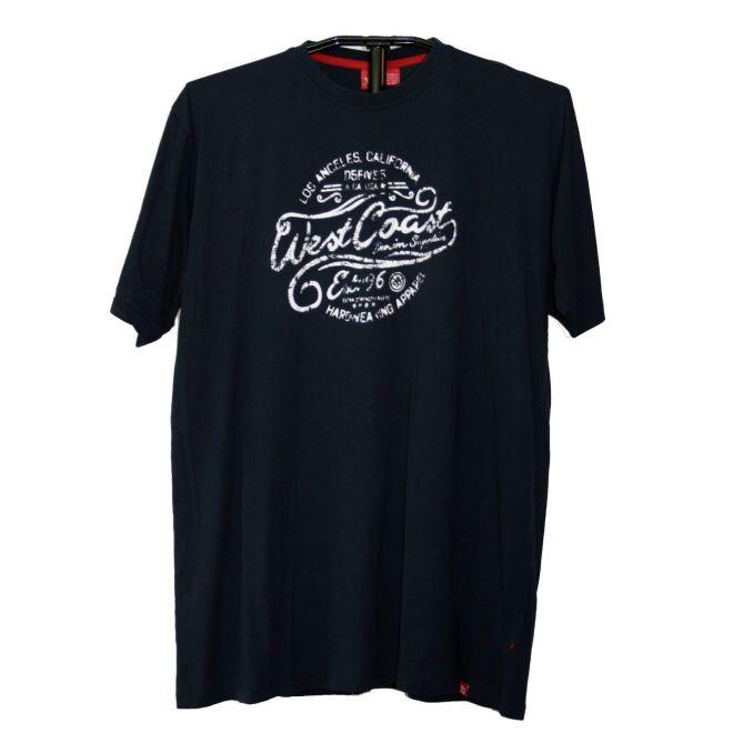 72548b49b7af DUKE T-Shirt mit Druck in Überlänge, TALL Größe LT-3XLT, extra