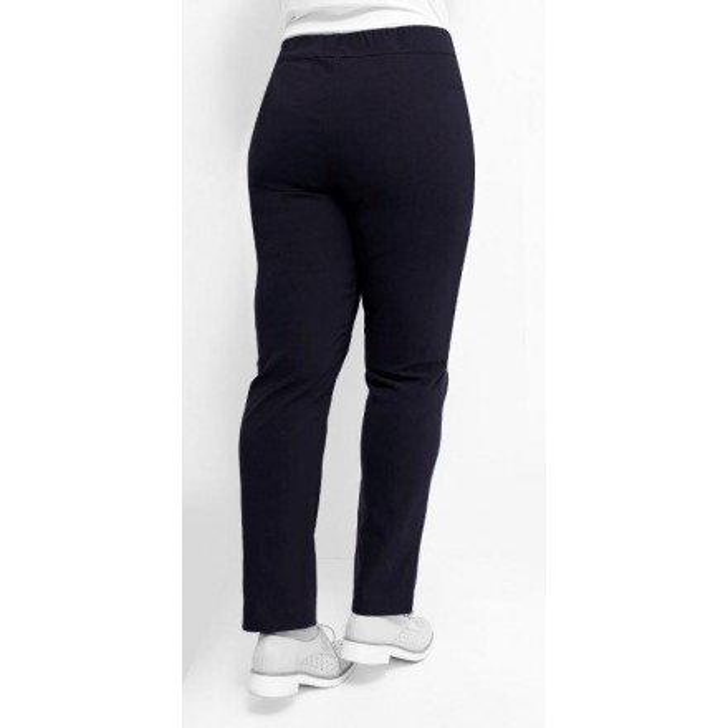 88 100 MONA LISA leichte elastische Damen Schlupf Hose Größe 44 50 Langgröße