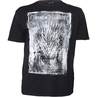 "ALLSIZE NORTH 56° extra-langes T-Shirt mit Druck ""Game of Thrones"", TALL Größe 4XLT-7XLT extra langes Shirt in Übergröße, 100% BW,"