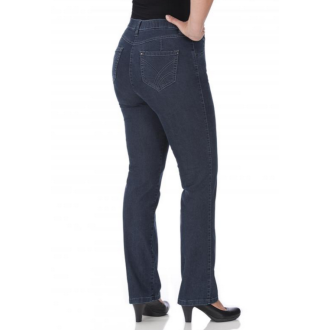 KjBRAND Langgröße QUER-SUPER-STRETCH Damenjeans, Sommerjeans BETTY (bequeme Oberschenkel) Lang- & Übergröße 40L-56L. Auf Schadstoffe geprüft (6244 24618 L)